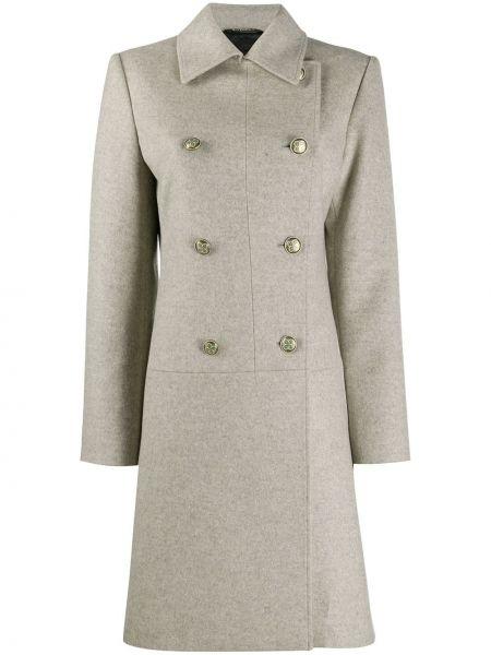 Кашемировое пальто классическое двубортное с воротником Givenchy