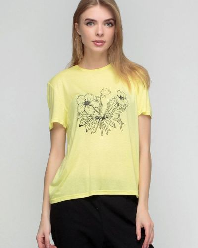Желтая футбольная футболка F'91