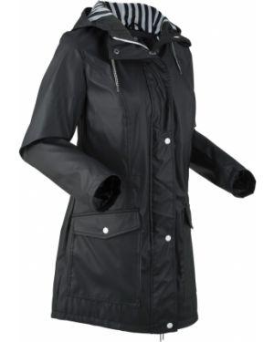 Куртка черная на молнии Bonprix