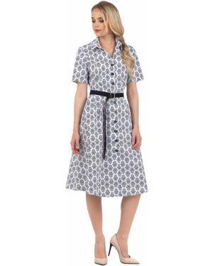 Летнее платье на пуговицах повседневное Zip-art