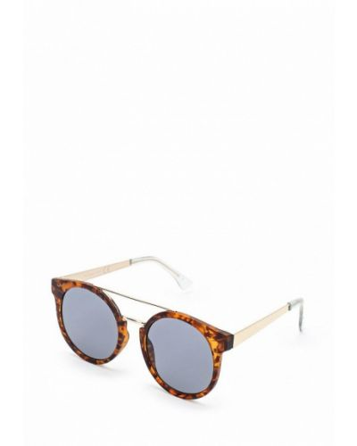 Коричневые солнцезащитные очки Topshop