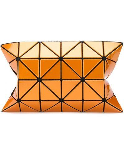 Pomarańczowa kopertówka z nylonu Bao Bao Issey Miyake