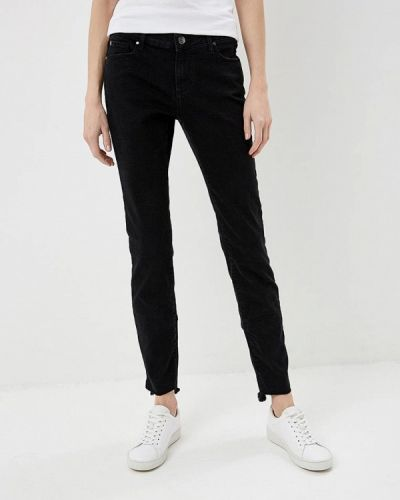 Черные джинсы-скинни Armani Exchange