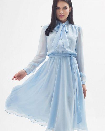 Вечернее платье - голубое Brunello De Neri