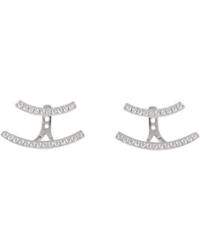 Серебряные серебряные серьги Apm Monaco