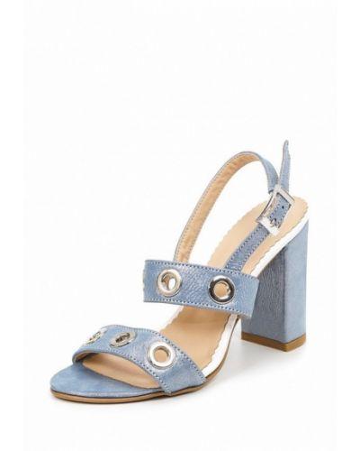Голубые босоножки на каблуке Roberto Netti