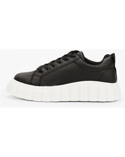 Черные демисезонные кеды Sweet Shoes