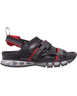 Skórzany sandały Fendi