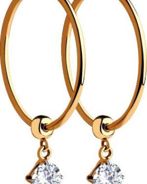 Золотые серьги серьги-кольца золотой Sokolov