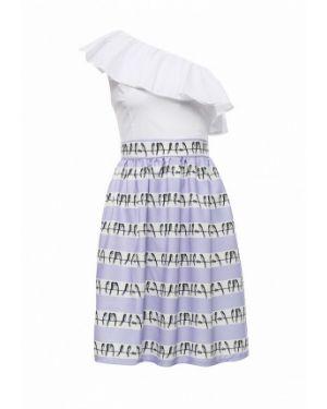 Фиолетовое платье весеннее Tutto Bene