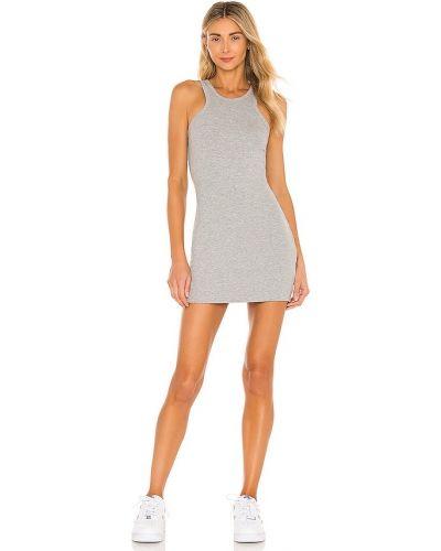 Трикотажное платье-рубашка для полных с подкладкой Lna