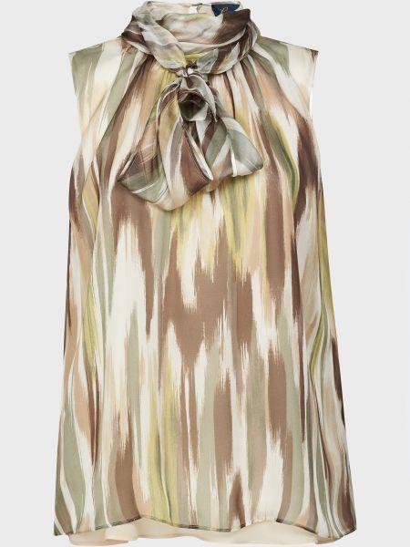 Шелковая блузка Luisa Spagnoli