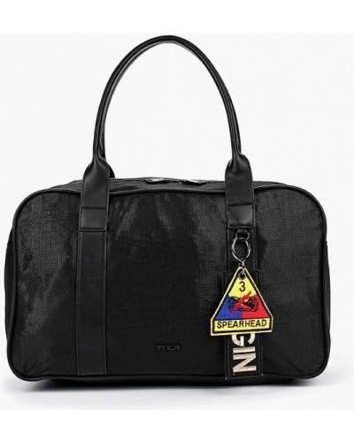 Черная спортивная сумка Pola
