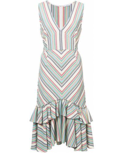 Платье в полоску шелковое Tome
