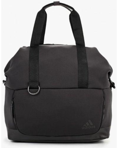 Серая спортивная сумка Adidas