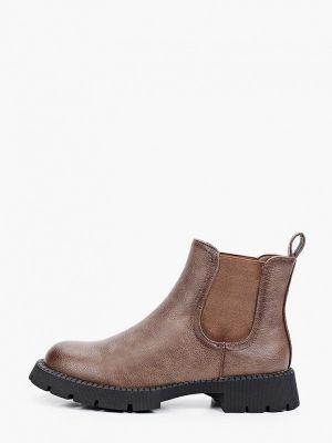 Коричневые ботинки осенние Ideal Shoes®
