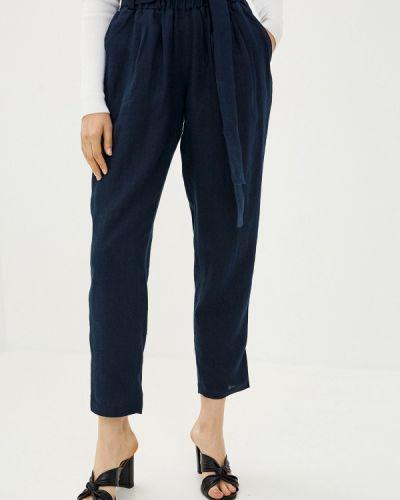 Синие зауженные брюки Gabriela