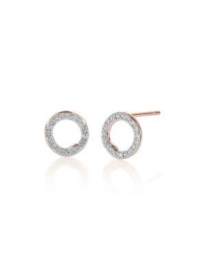 Kolczyki ze sztyftem kolczyki pierścionki srebrne Monica Vinader