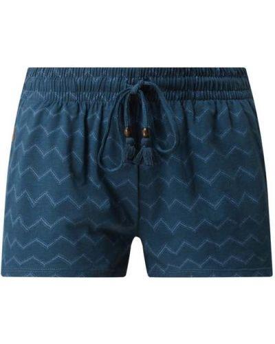 Niebieskie szorty bawełniane Ragwear