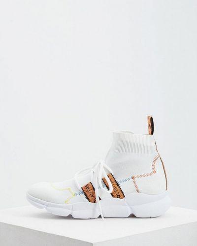 Высокие кроссовки белый итальянский L'autre Chose