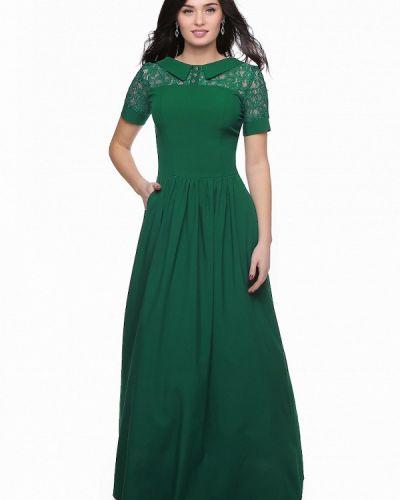 Зеленое вечернее платье Grey Cat