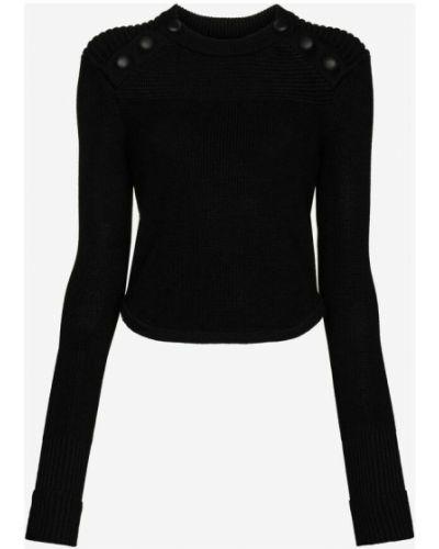 Sweter wełniany - czarny Isabel Marant