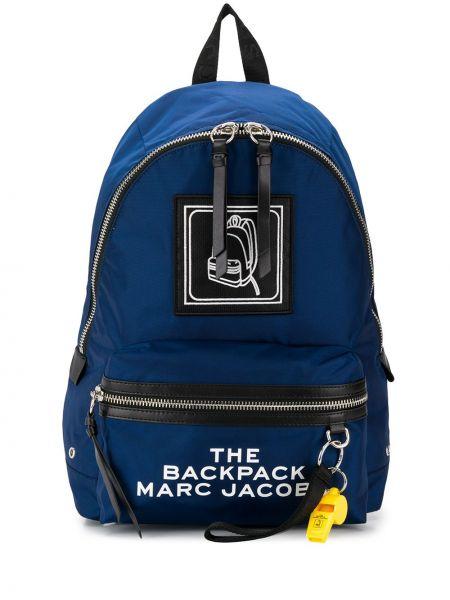 Plecak przeoczenie niebieski Marc Jacobs