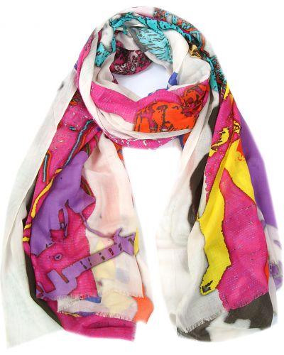 Фиолетовый шарф осенний Passigatti