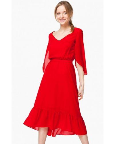 Красное платье весеннее Nai Lu-na By Anastasia Ivanova