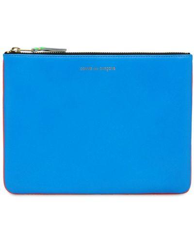 Кожаный клатч - оранжевый Comme Des Garçons Wallet