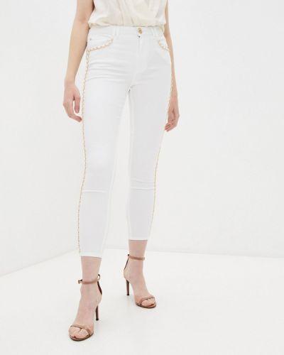 Белые джинсы-скинни узкого кроя Marciano Los Angeles