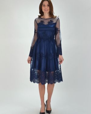 Платье со складками платье-сарафан Viserdi