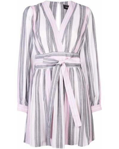 Расклешенное розовое платье макси на молнии Robert Rodriguez Studio