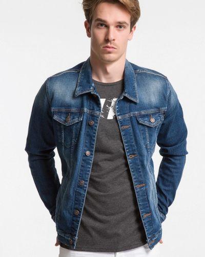 Джинсовая куртка - синяя Ltb