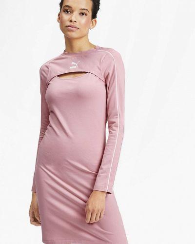Розовое платье Puma