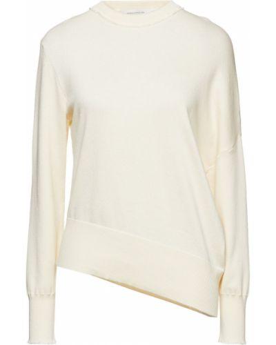 Prążkowany z kaszmiru sweter asymetryczny Cedric Charlier