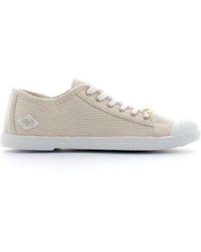Sneakersy - beżowe Le Temps Des Cerises