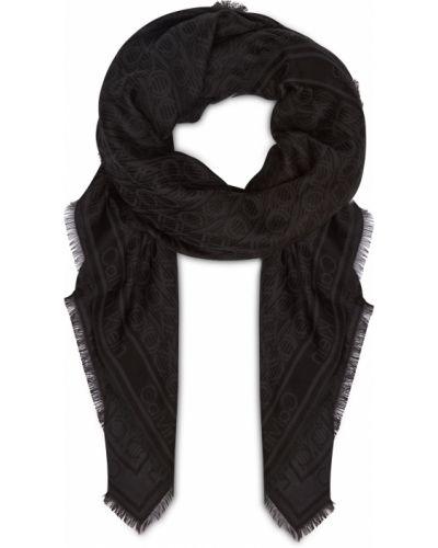 Szalik - czarny Calvin Klein Jeans