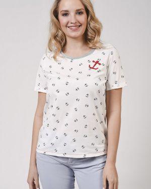 Хлопковая футболка - белая Ouí