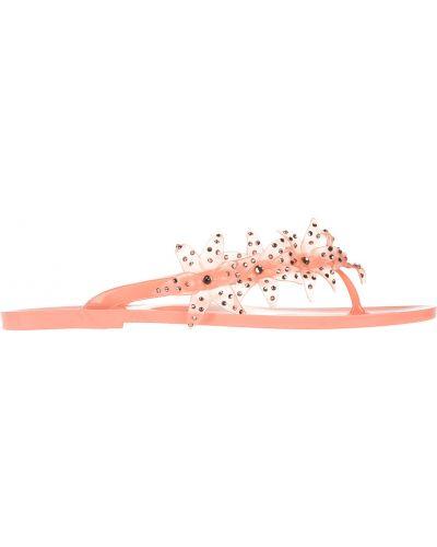 Резиновые шлепанцы - розовые Menghi