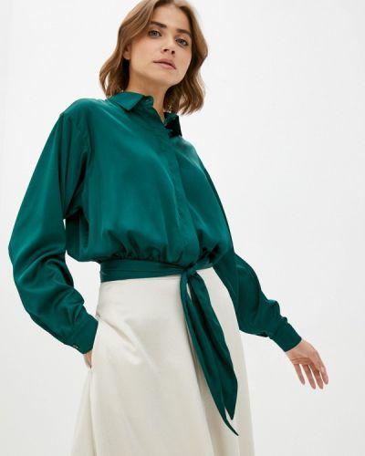Блузка с длинными рукавами - зеленая Imocean