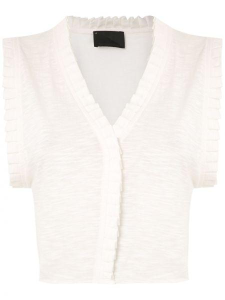 Блузка без рукавов с V-образным вырезом батник Andrea Bogosian