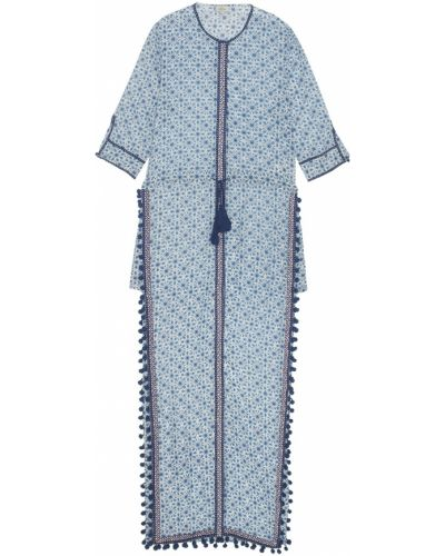 Этническое прямое шелковое платье Talitha