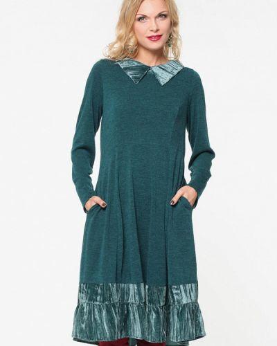 Платье осеннее зеленый Kata Binska