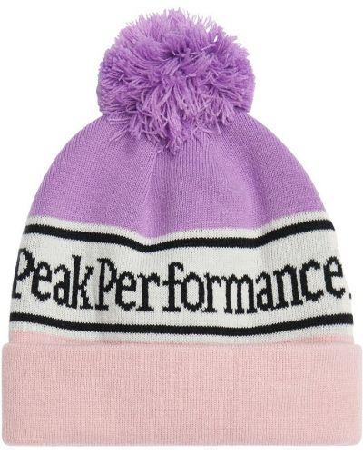 Czapka - różowa Peak Performance