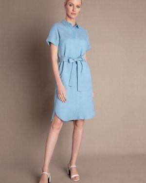 Платье мини через плечо классическое Ostin