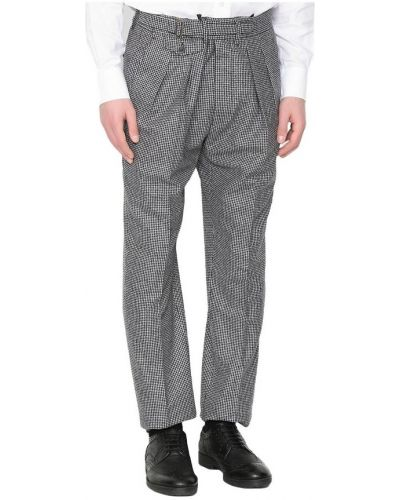 Szare spodnie Lardini