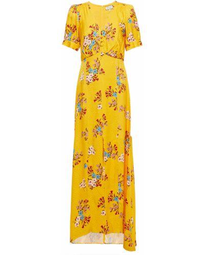 Платье макси из вискозы с подкладкой Paul & Joe