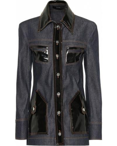 Синяя джинсовая куртка Ellery