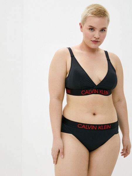 Купальник черный купальник-бралетт Calvin Klein Underwear